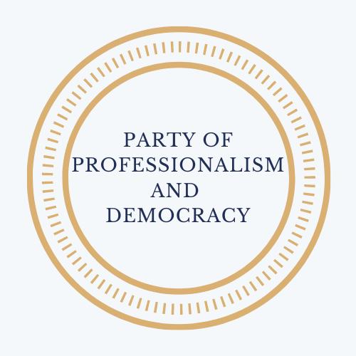 Logo szakmaisag es demokracia partja