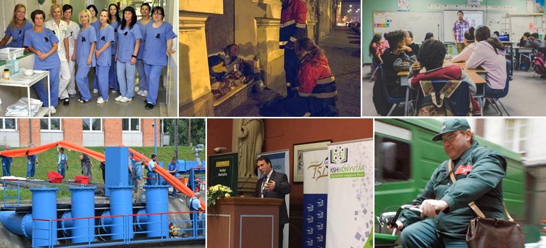 egészsegugy szacialis szakma oktatas kornyezetvedelem KSH magyar posta szakmaisag es demokracia parja