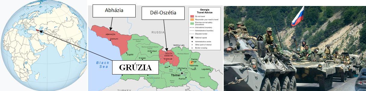 grúzia térképe oroszország hadserege szakmaiság és demokrácia pártja