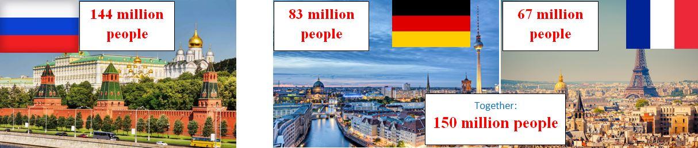 népesség oroszország németország franciaország szakmaiság és demokrácia pártja