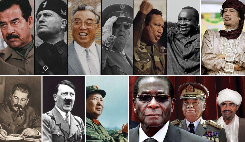 világtörténelem diktátorai demokrácia és diktatúra összehasonlítása szakmaiság és demokrácia pártja